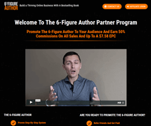 The 6-Figure Author Partner Program
